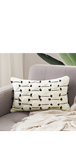 tuffted pattern bedroom living room guest room bay window decoration invisible zipper