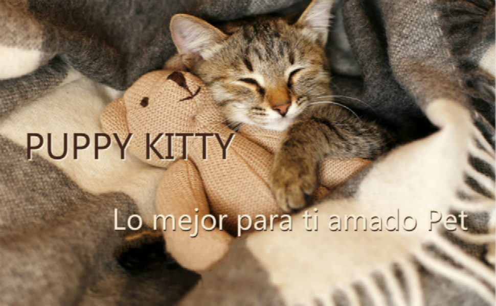 PUPPY KITTY 52 x 42,5 x 42 cm Casa para Gatos al Aire Libre Plegable con coj/ín extra/íble Suave y c/álido para Gato Gato Perro Cachorro caseta de Nieve Invierno f/ácil de Lavar