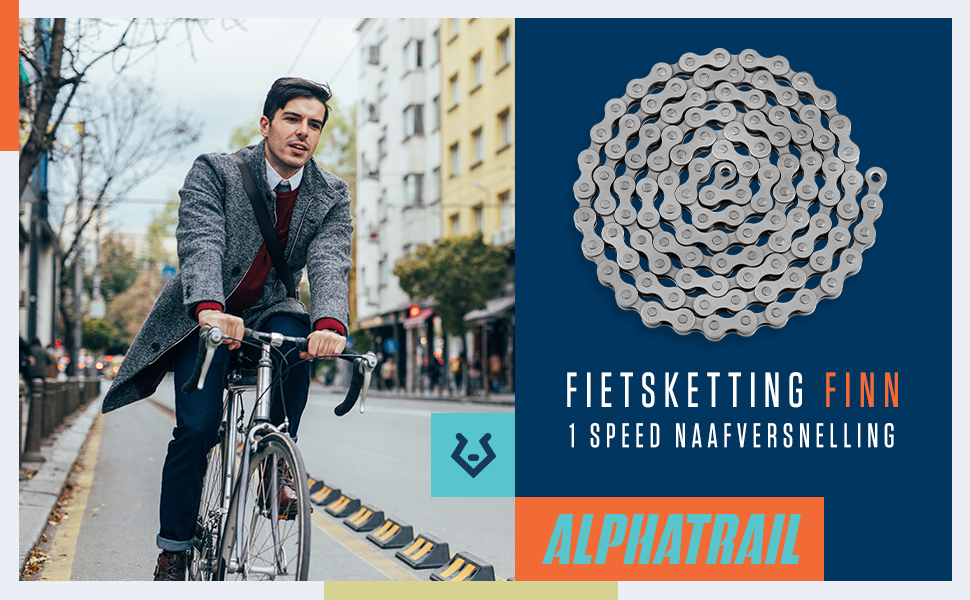fietsketting finn 1 speed naafversnelling