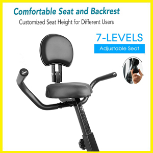 Dolphy Folding standing Exercise X desk Bike fitness Spinning Indoor Cycling for Home GymAdjustable