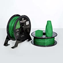 ppla roll contains a 1 kg spool at 1.75 mm filament diameter and dimensional accuracy of +/- 0.03 mm