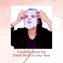 Place the Sheet Mask