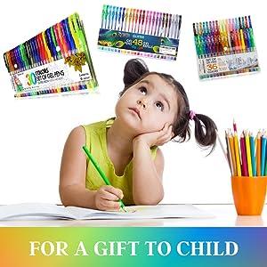 gel pens sparkly pens for girls stationary set for girls girls stationary set