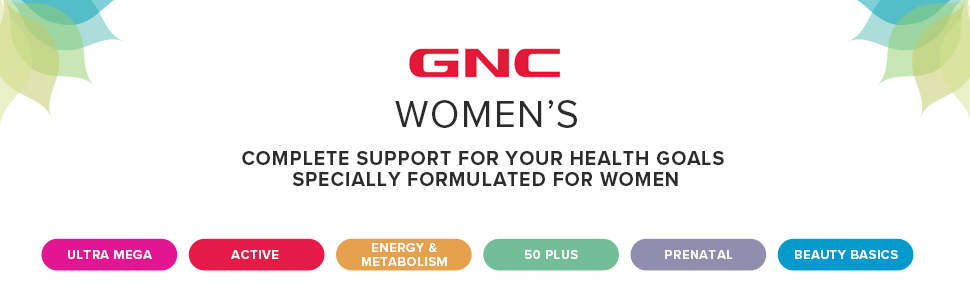 women's complete support for your health goals specially formulated for women
