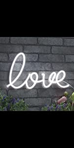 ADVPRO LED Neon sign light-ing  Love Lovers Valentines heart sweet Flex Silicone bright