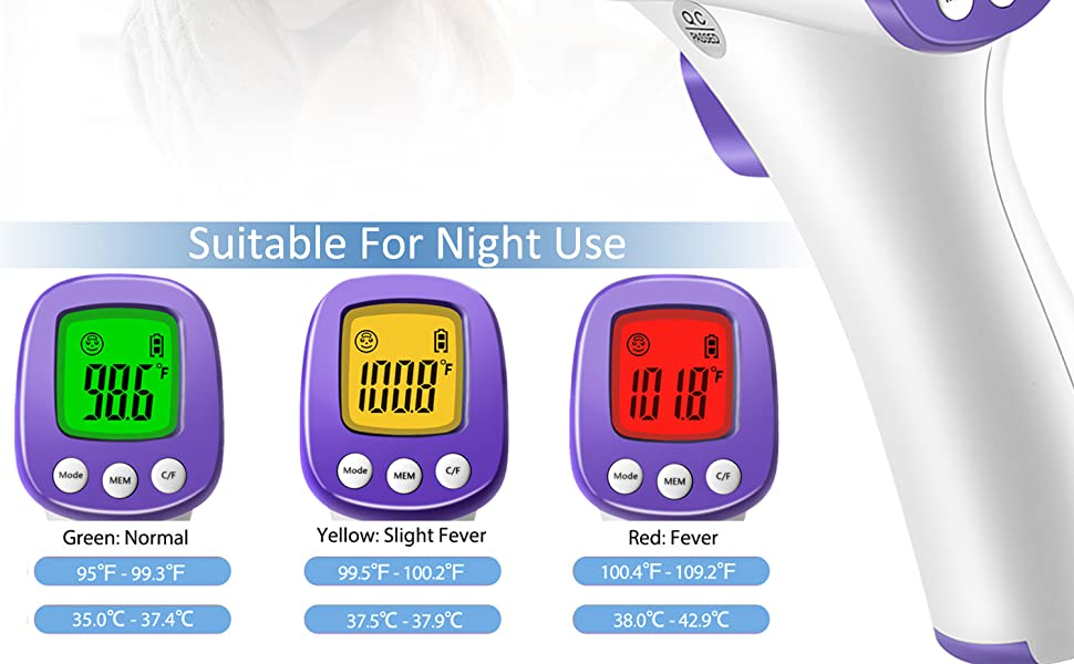 Non-Contact Infrared Forehead Thermometer  Non-Contact Business Bundle for Medical Offices and Hospitals 0032f256 3701 4f1e 9c28 aa87133250d3