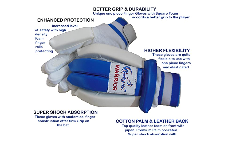 Prokyde Warrior Cricket Batting Gloves 1