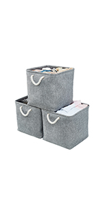 AlphaHome Storage Basket Cube