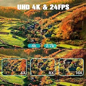 4k digital camera
