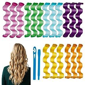 hair styling waving tools kit for women kids