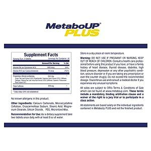 MetaboUp Plus, Lipozene, Caffeine, weight loss green tea. coffee