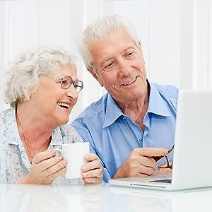 Old Man Woman Eyes