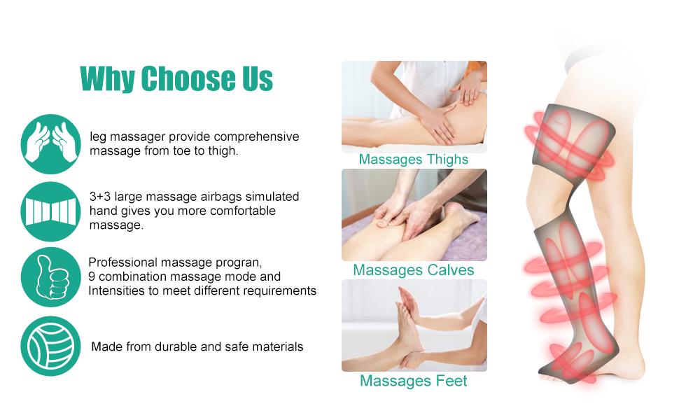 leg thigh massagers
