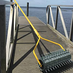 jenlis muck razer clean docks and boat landings for lakes and pons remove weeds roots muck and dirt