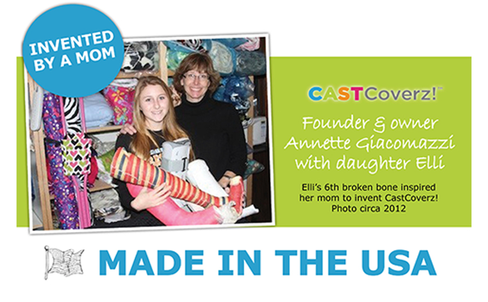 Made in USA and invented by a mom