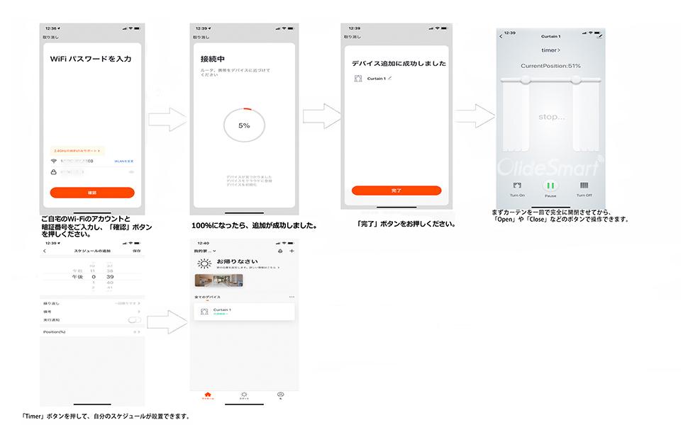 「TuyaSmart」アプリの設置