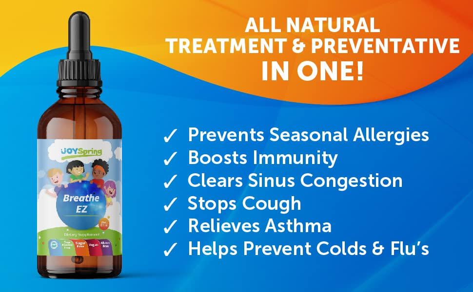 seasonal allergy treatment preventative asthma cough sinus congestion colds flu
