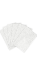 6pcs steam mop pads