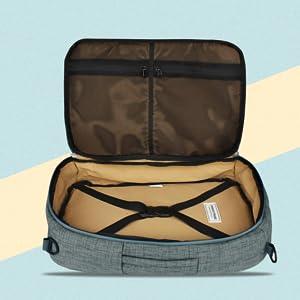 Urban Tribe Ash Melange Laptop Backpack (Trans4mer v2.0)