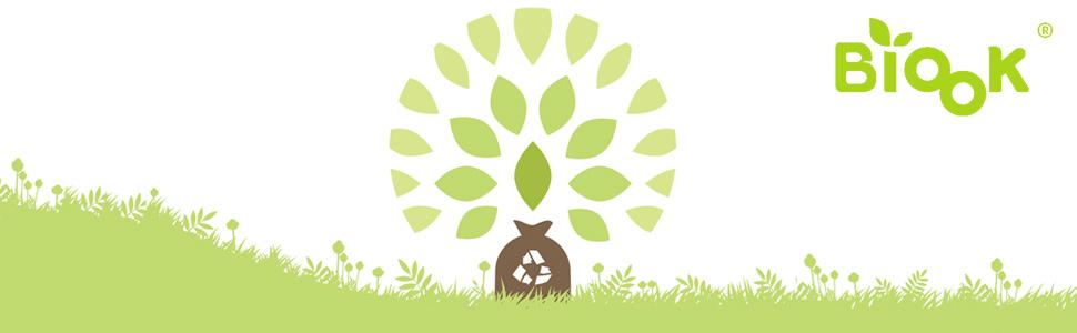 compost degradables bolsas de basura BIOOK