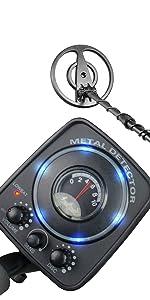INTEY GC-1065 Detectores De Metales Ligero con Multifunción, Modos ...