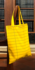 Out of Print Book Reusable Tote Bag