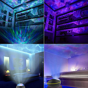 Colorful night light help you to enjoy a good day