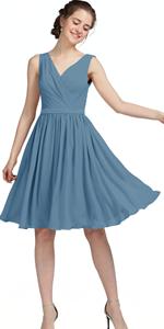 bridesmaid dress short
