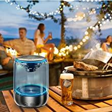 led bluetooth speaker