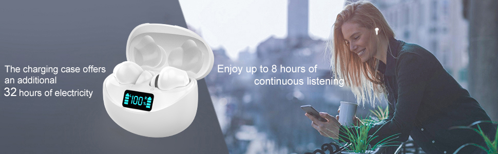 Cuffie Wireless with IPX7 Impermeabile
