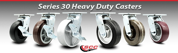 Service Caster Series 30 Heavy Duty Casters