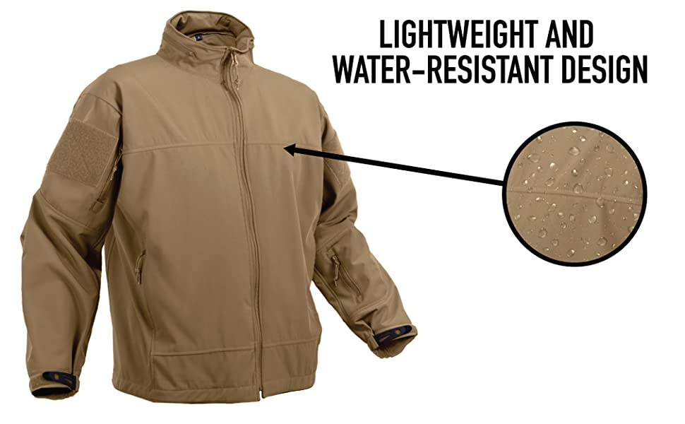 Lightweight and Water-Resistant