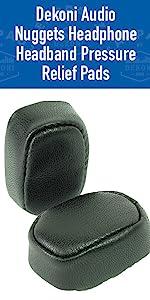 dekoni audio nuggets headphone band pressure relief