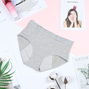 gray period panties for teens