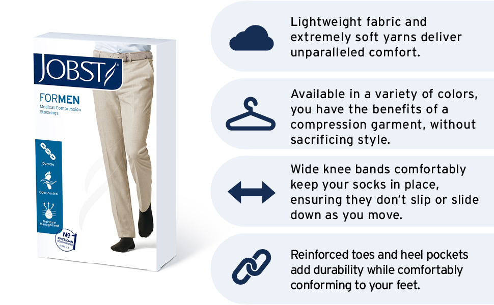 stockings compression medium knee high relief hose medical support sport open toe sock closed thigh