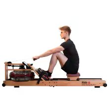 wood water rower machine