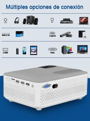 mini proiettore wireless home theater
