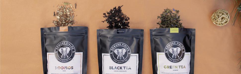 Edward Fields Tea Té Orgánico Bio Eco Ecológico Granel