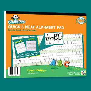 Channie's Alphabet Writing Pad great resource for special education and adult rehabilitation