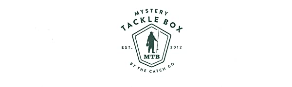 mystery tackle box catch co bass fishing kit fishermen fish angler lure