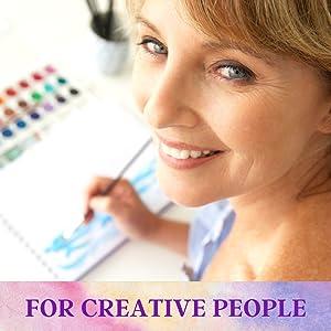 Amazon Com Paint Brushes Set Acrylic Paint Brush Watercolor Brushes Oil Paint Brushes Artist Brushes Gouache Paint Brushes Craft Paint Brushes Face Body Paint Brushes Set 7 Types Of Brushes