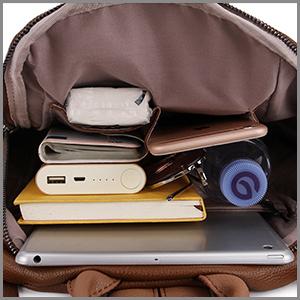 well organized bag