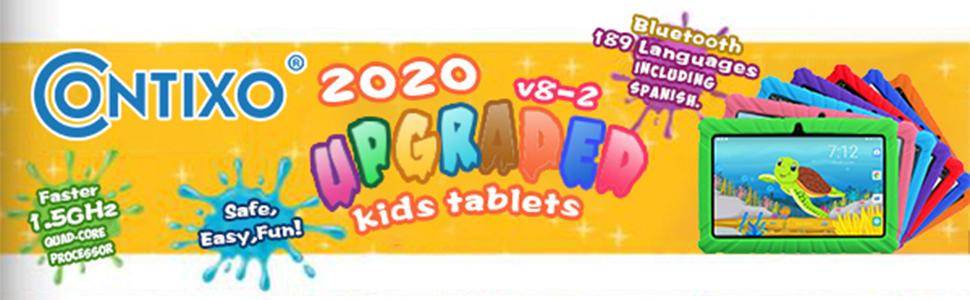 2020 Upgraded Kids Tablets v8-2
