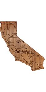 California Engraved Cutting Board