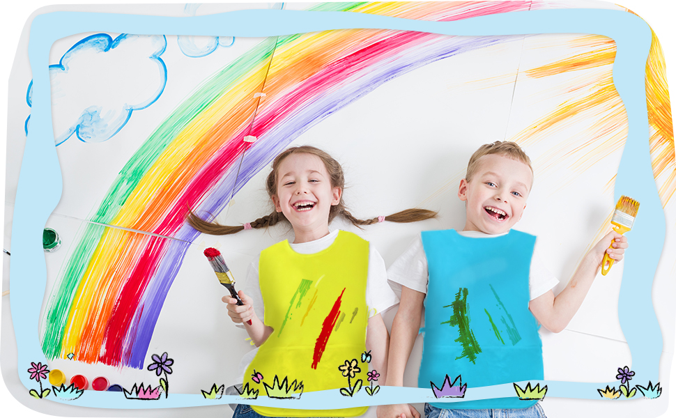 toddler smocks for painting