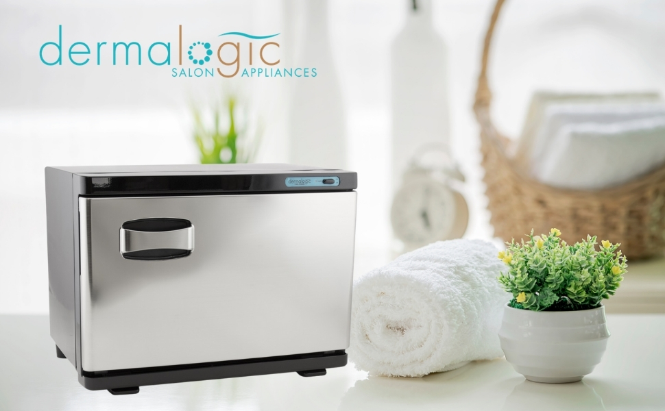 Dermalogic Salon Appliances - Towel Warmer Stainless Steel Finish 20 L Compact Size
