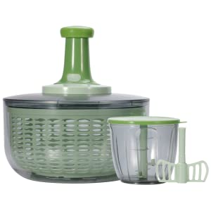 Brieftons salad spinner and chopper - what you get