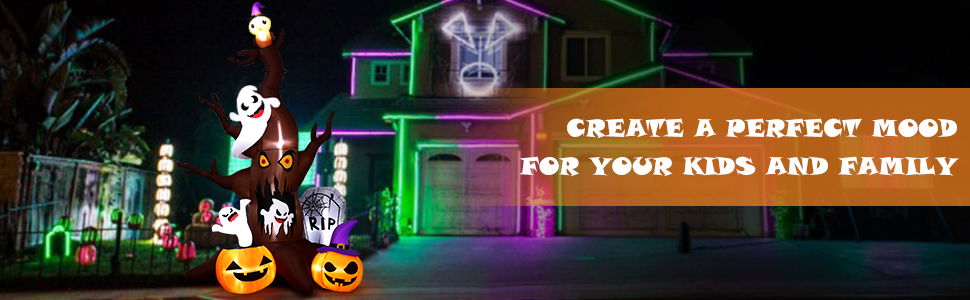 halloween inflatable outdoor