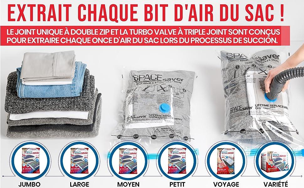 id/éal pour le rangement sous vide DaMohony Lot de 15 sacs de rangement sous vide r/éutilisables sans BPA la pr/éparation des repas ou sous vide