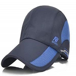 blue sports cap